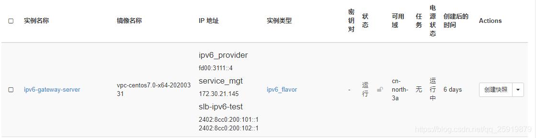 IPv6双栈虚机