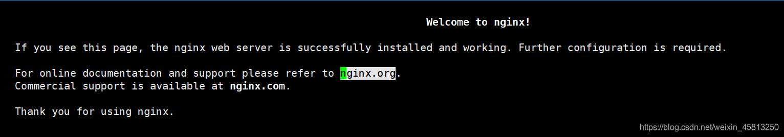 nginx页面