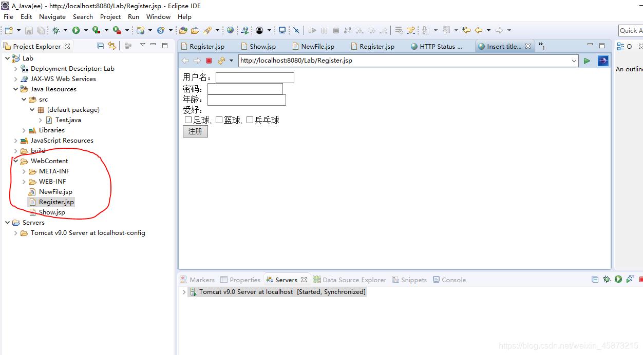 这是放在webapp目录下可以正常运行的情况