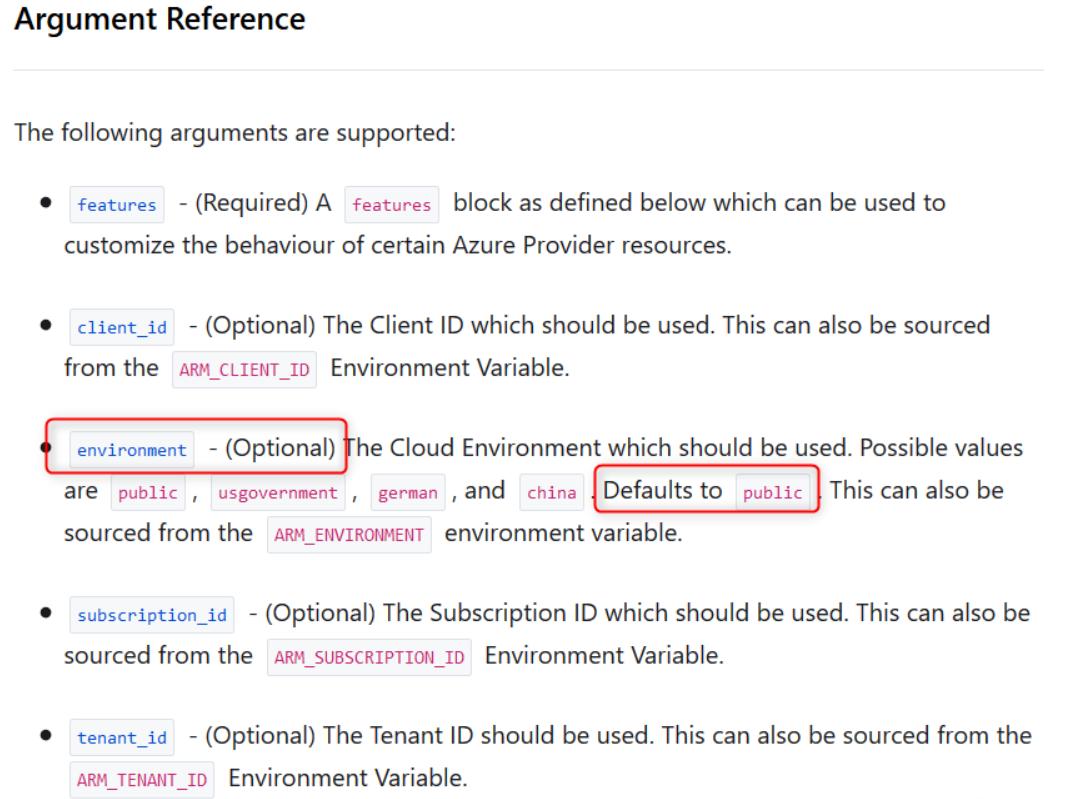 Terraform踩坑记之:Azure Provider配置插图(2)