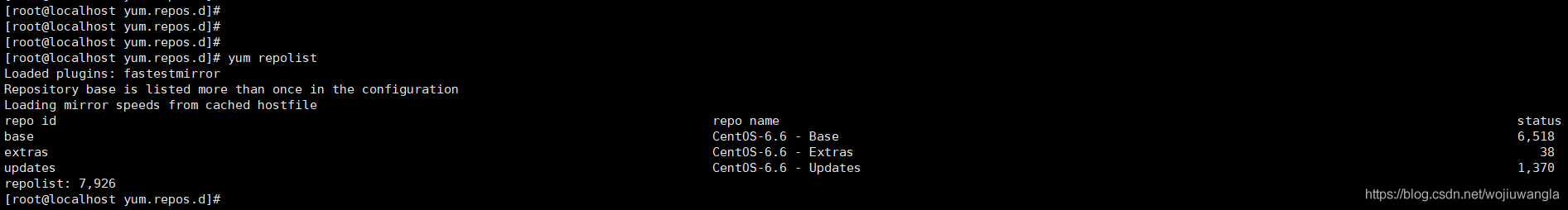 图片[7]-Centos6  repomd.xml: [Errno 14] PYCURL ERRO 解决方法及新的源