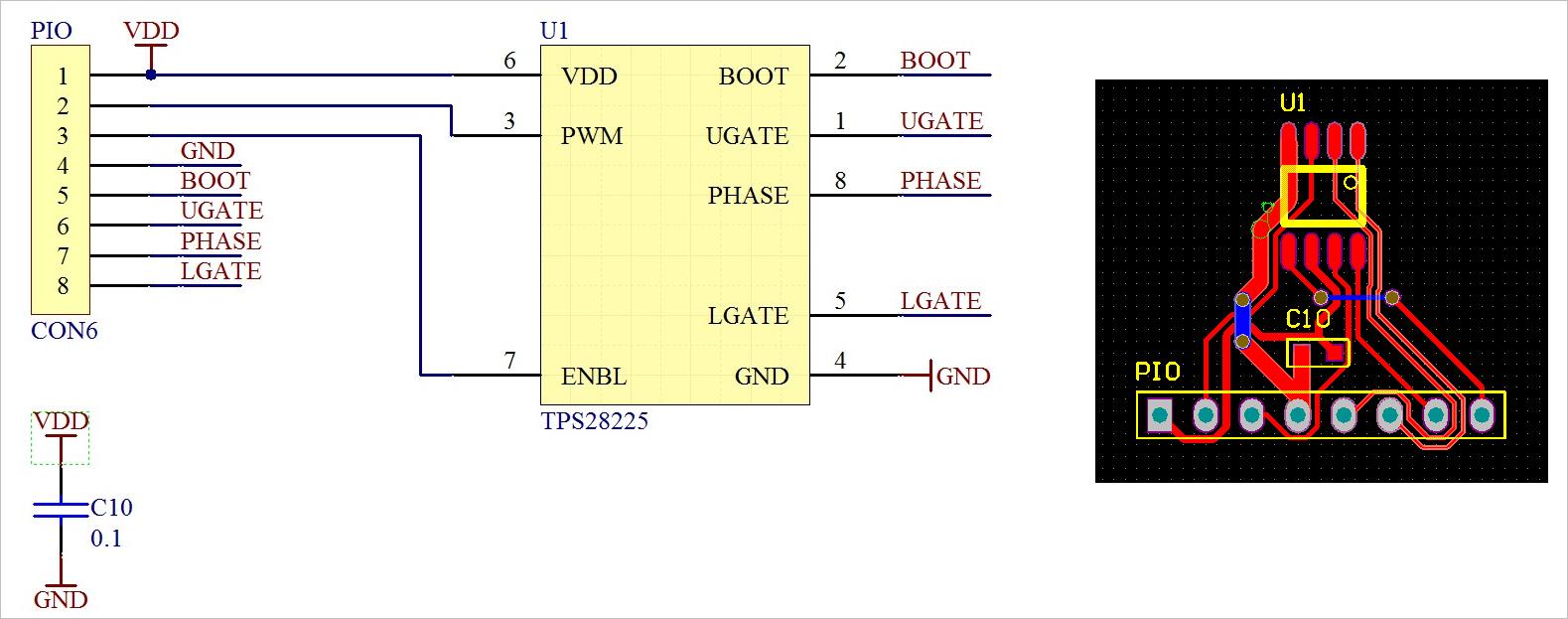 ▲ 实验电路板图
