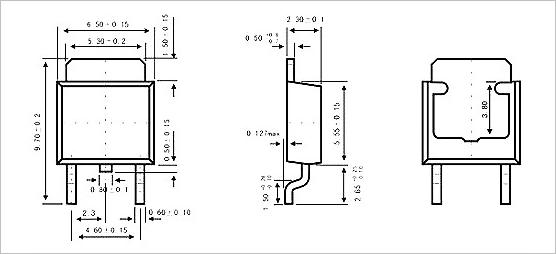 ▲ TO-252 封装形式