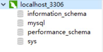 MySQL自带的四个数据库