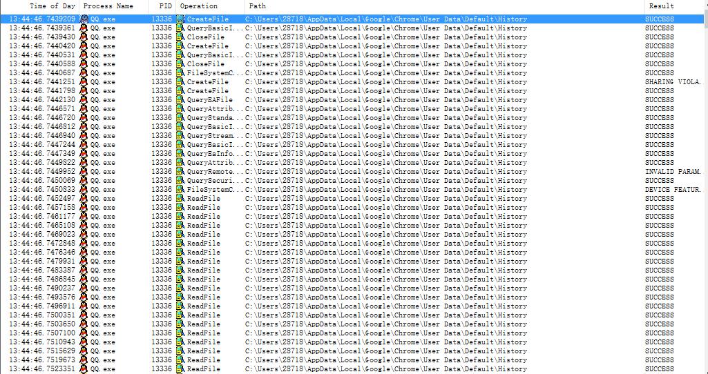 TX读取所有浏览器的历史记录-不知君