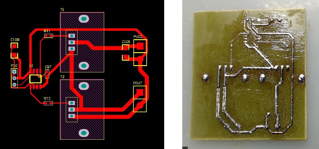 ▲ 快速制版实验PCB