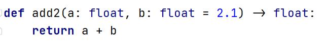 :后为参数类型->后为返回值类型