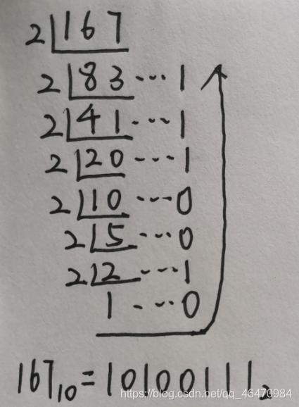 十进制转换为二进制