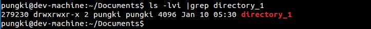 原文件 file_5.txt 的 inode 值是 279231