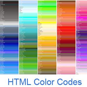 图 1 HTML颜色编码