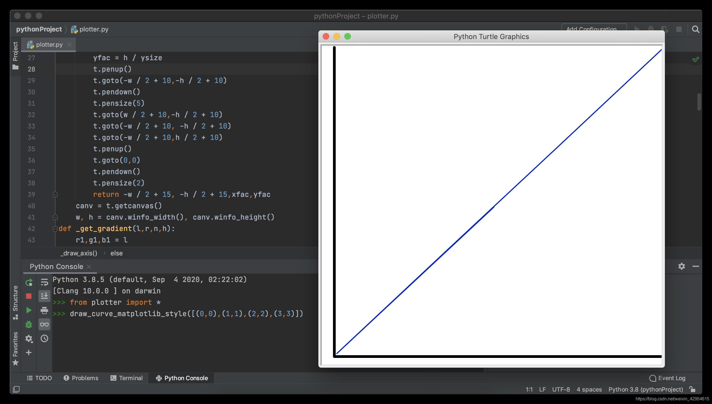 plotter绘制matplotlib风格图