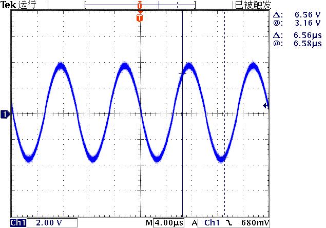 ▲ DG1062输出信号