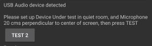 检测到 USB