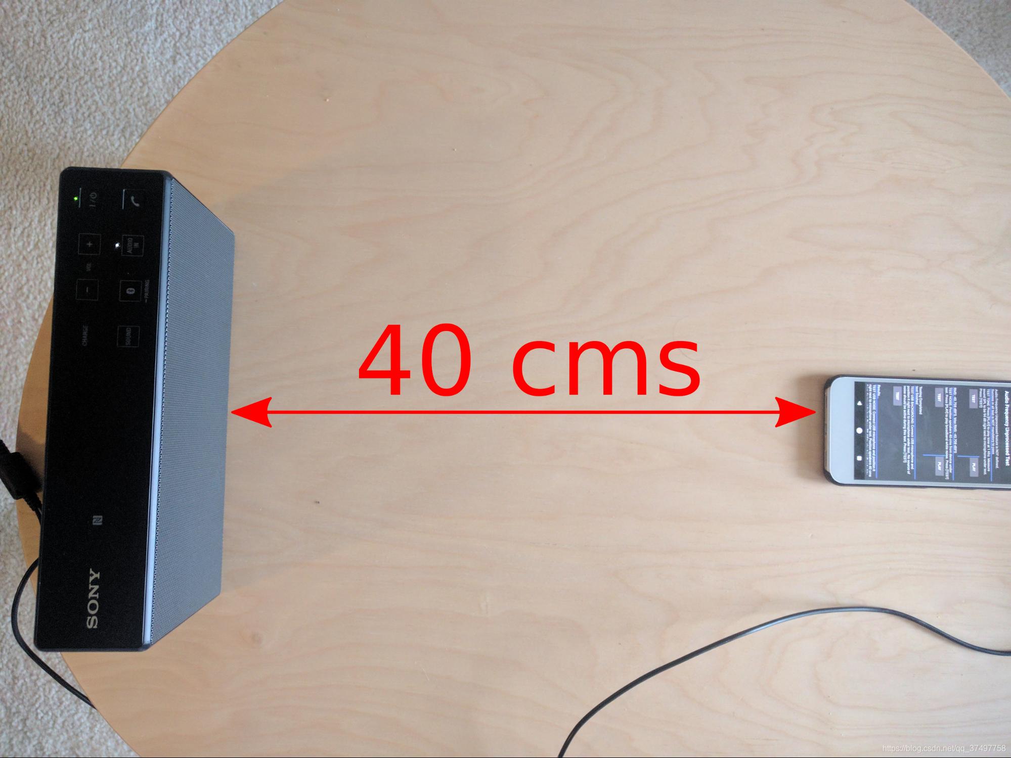扬声器放置位置照片