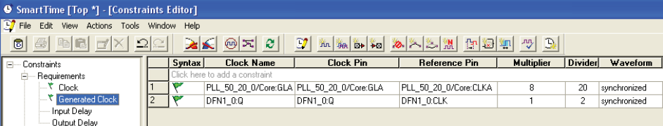 FPGA的设计艺术(6)STA实战之SmartTime时序约束及分析示例(I)