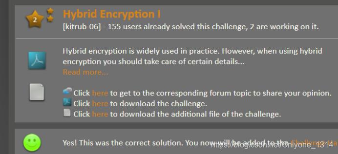 Hybrid Encryption I(RSA和AES算法混合加密方案破解)