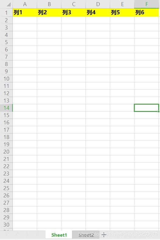 原有工作簿workbook有两个工作表sheet1、sheet2