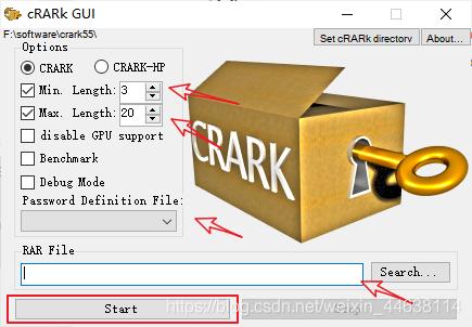 暴力破解WinRAR文件!!——cRARk使用方法 7