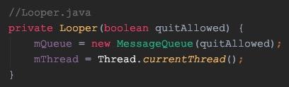 Looper构造方法