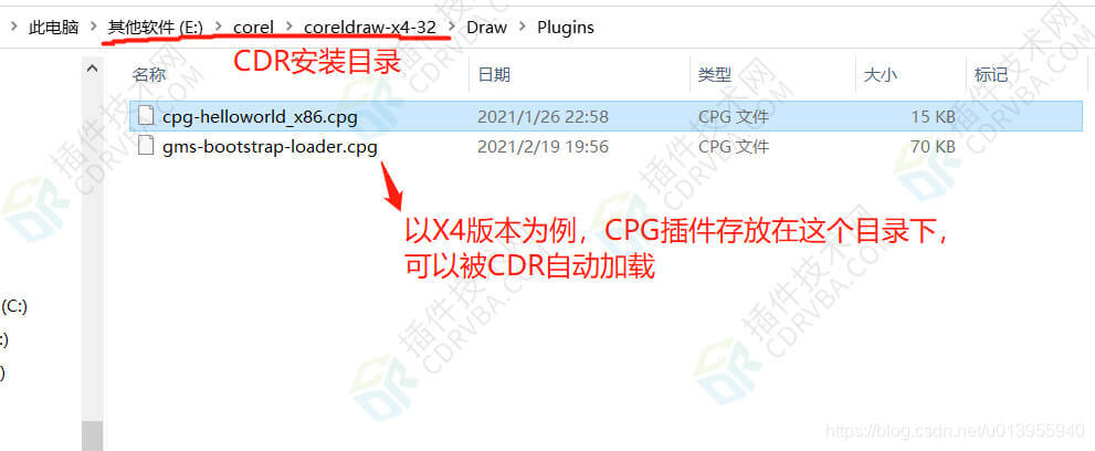 X4版本CPG安装目录