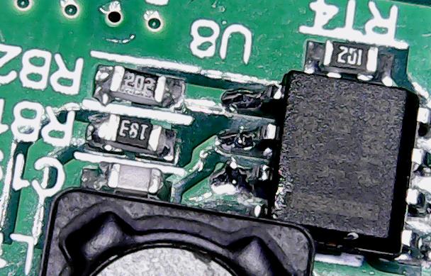 ▲ TPS3260及其周围采样电阻