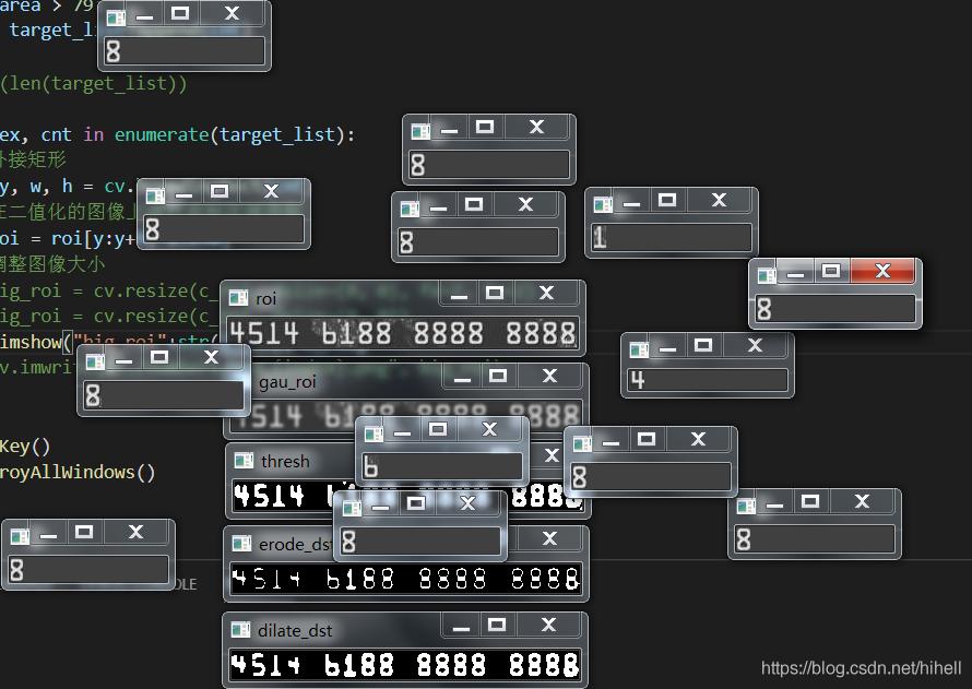 招商银行信用卡卡号识别项目(第一篇),Python OpenCV 图像处理取经之旅第 53 篇