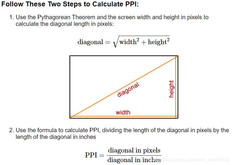 calculate PPI