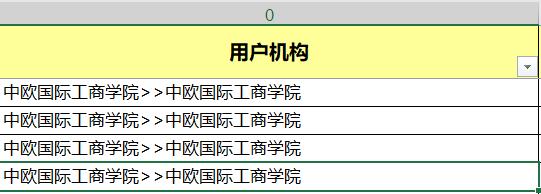 """原表0列,由于系统导出时附带了完整的层级从属关系,因此多处了很多"""">>""""分隔符,层级多则三层,少则没有"""