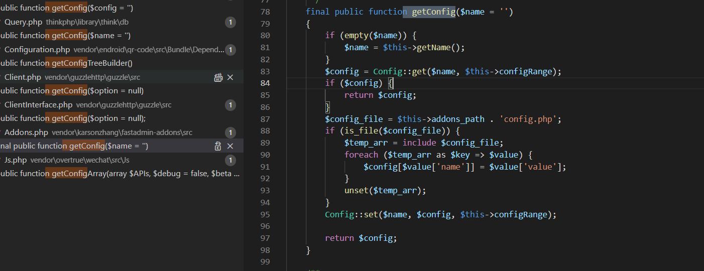 第二套基于fastadmin的代码审计