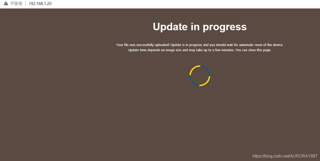 web failsafe更新uboot