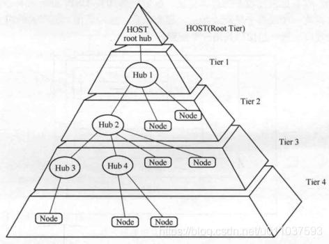 usb拓扑结构