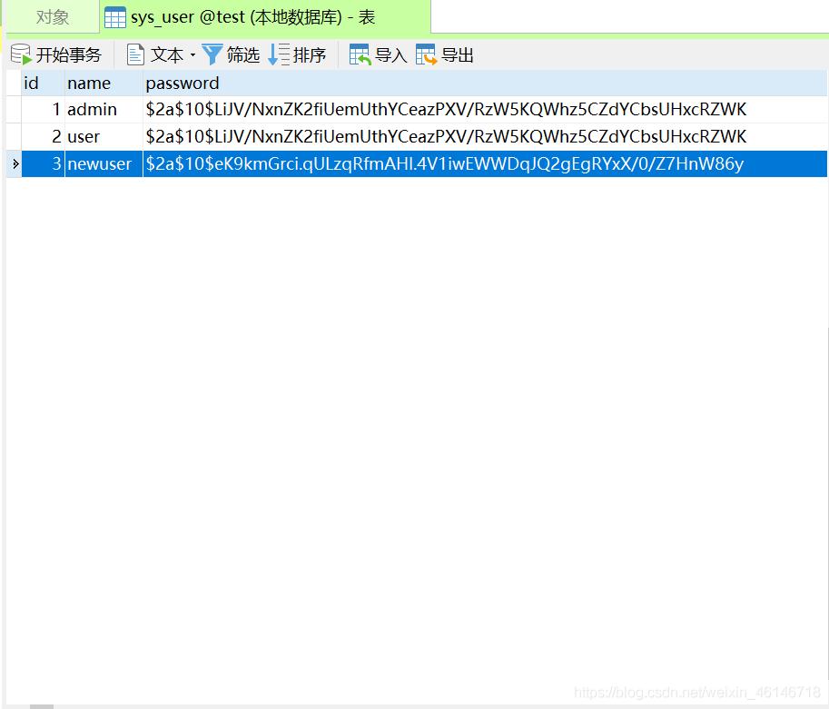 SpringBoot整合SpringSecurity+Redis权限控制
