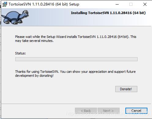 TortoiseSVN(64Bit)截图