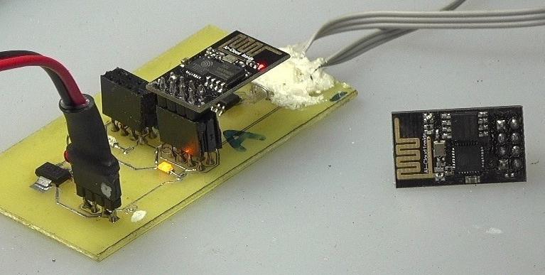 ▲ ESP8266通讯模块