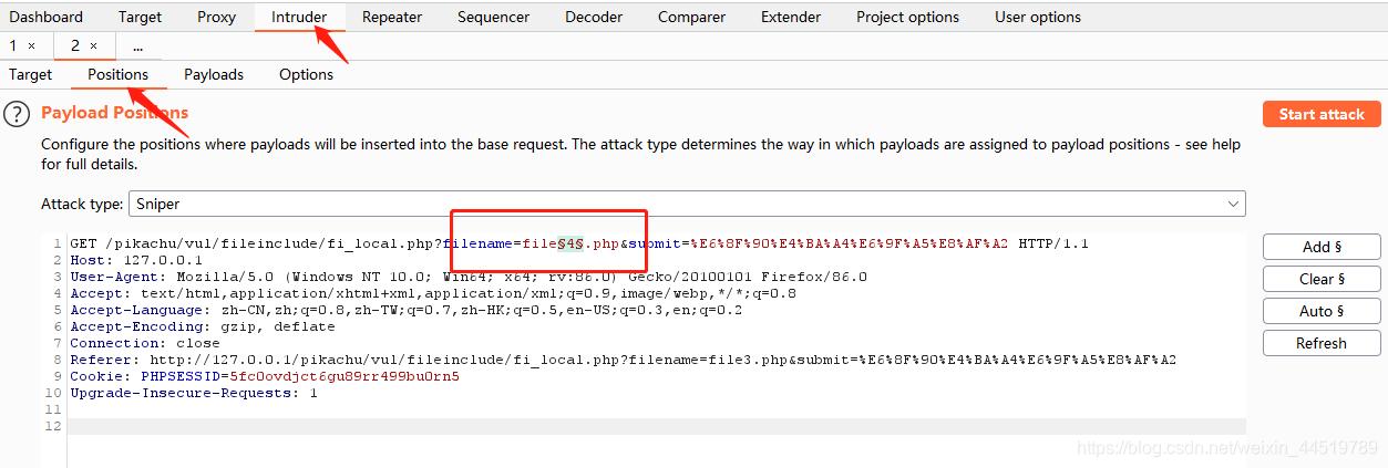 P11 PikaChu_File Inclusion(文件包含漏洞)