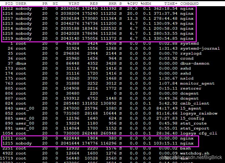 nginx8-实际工作情况