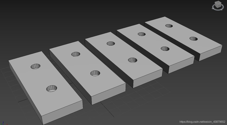 新建5个简单布尔后的Box