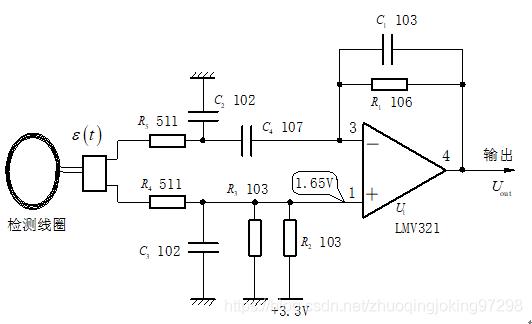 ▲ 传统电磁线圈检测放大器方案