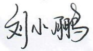手写体签名
