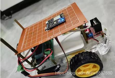 无线遥控小车硬件图