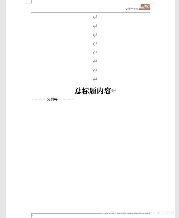 WORD模板2