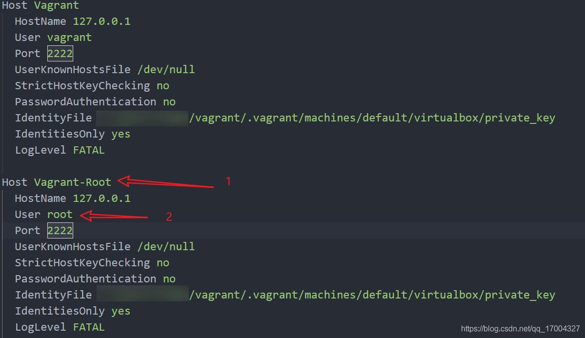 增加 Vagrant root 用户登录