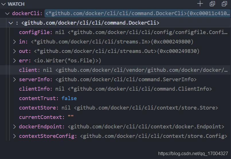 docker/cli 观察变量