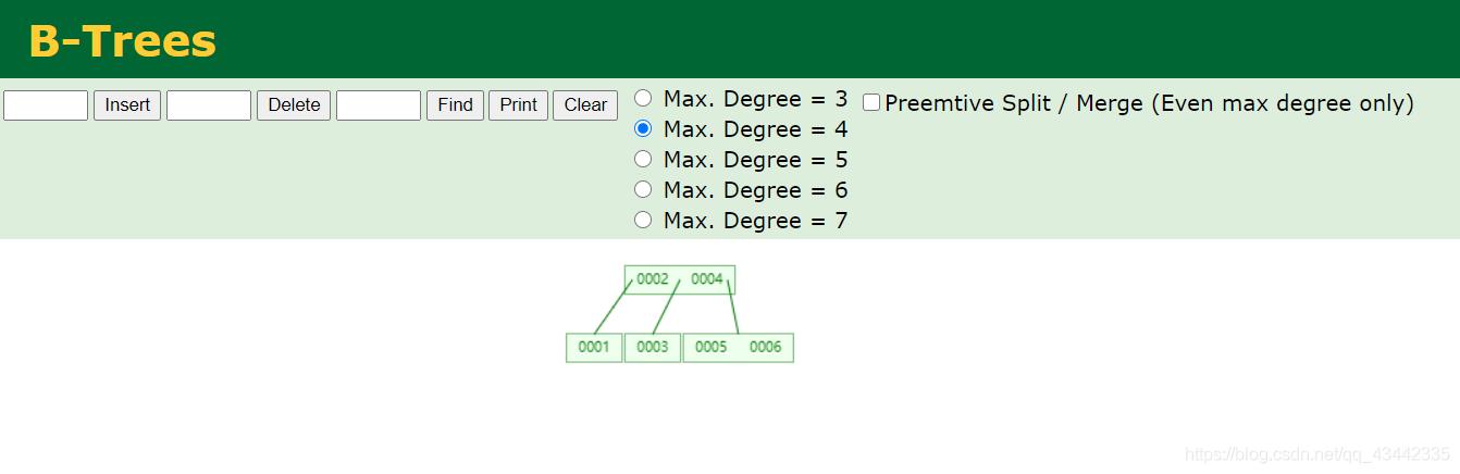 1-6 B-Tree