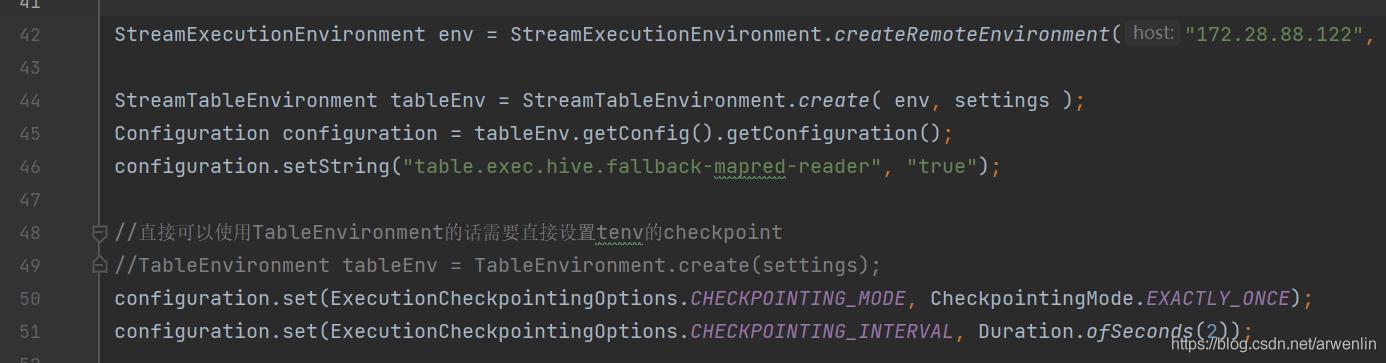 FLINK1.12.2 使用问题记录 (持续更新)