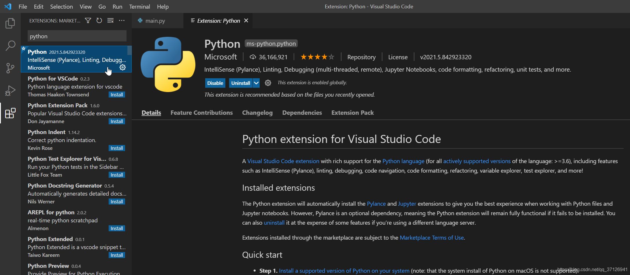 Python4VSCode