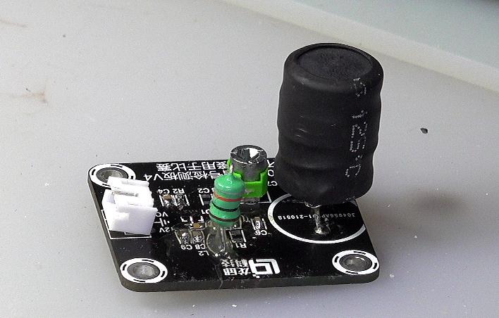 ▲ 图2-1 更换完L1与谐振电容之后的接收电路板