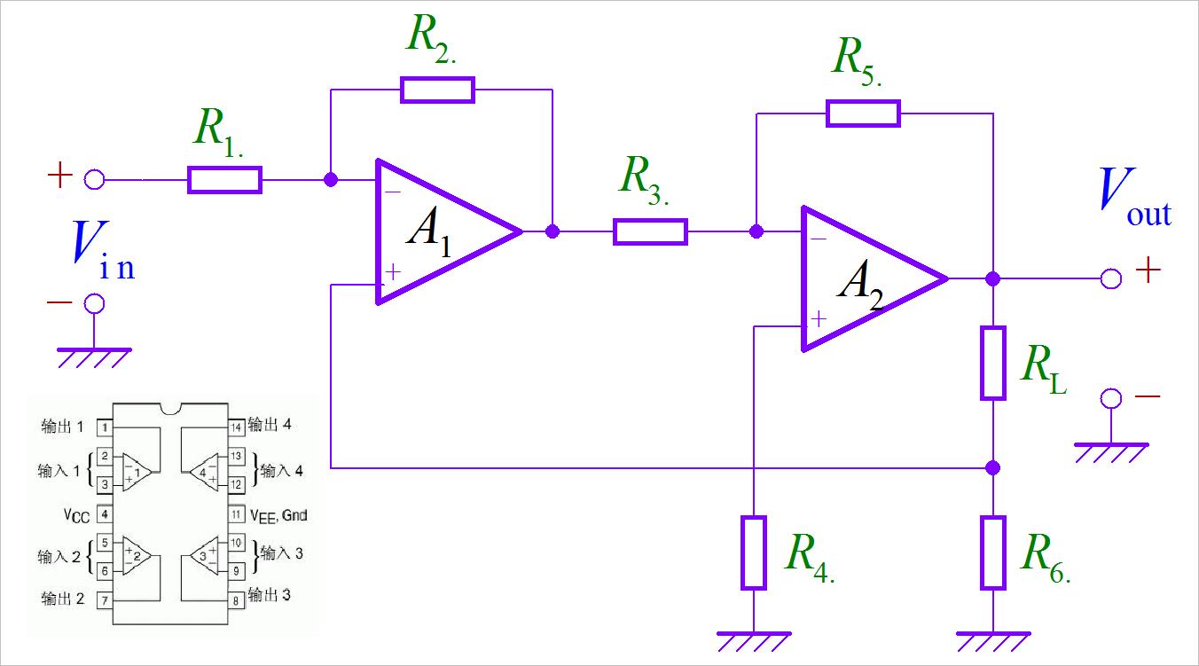 ▲ 图1-1 电路原理图
