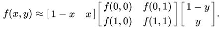 $f(x,y) \approx $