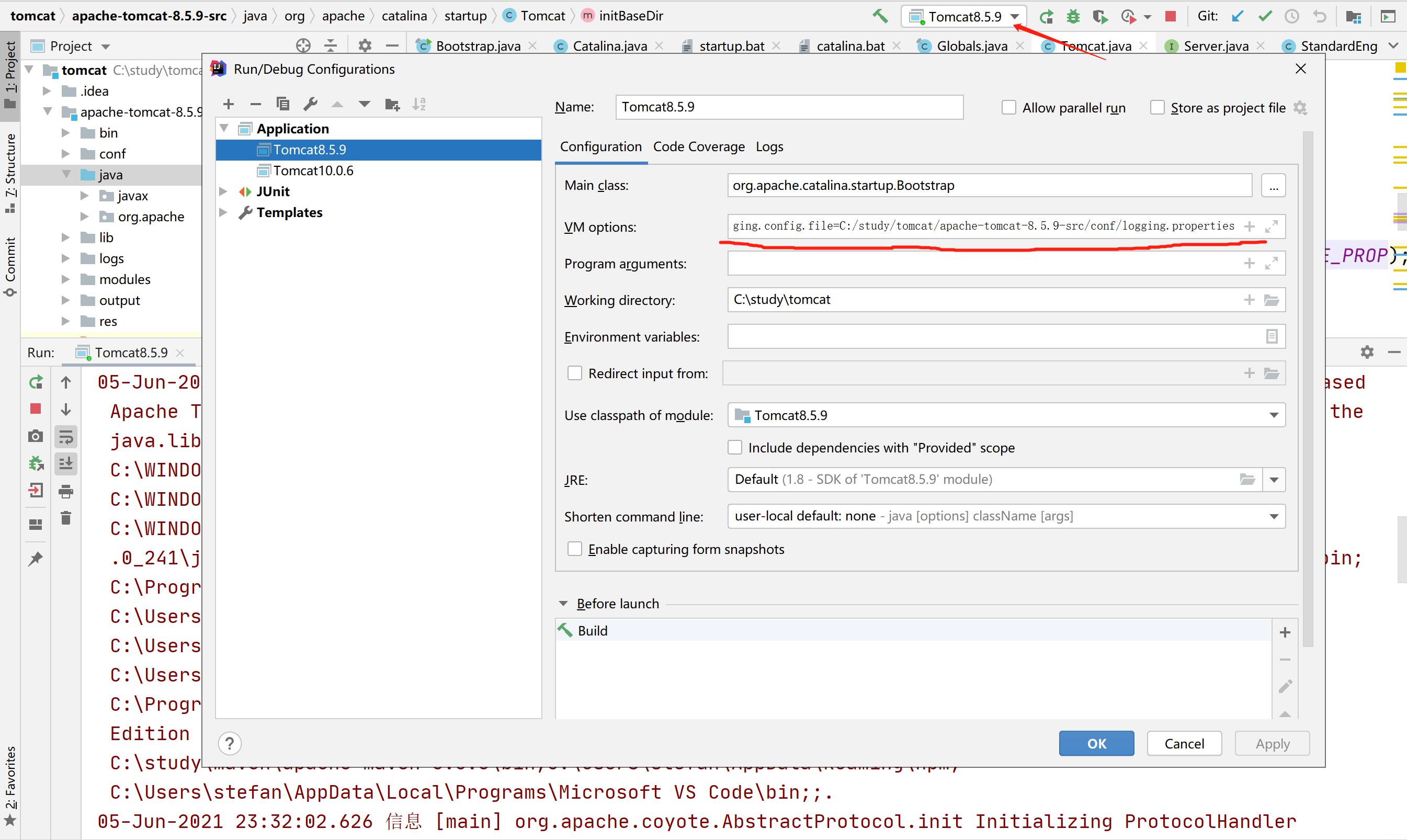 Edit Configurations...